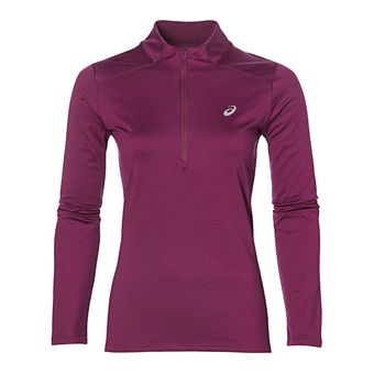 Camiseta mujer ESSENTIALS WINTER plum