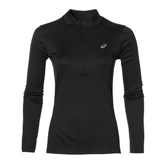 Camiseta mujer LS TOP performance black