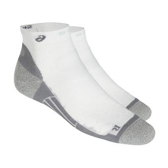 Chaussettes ROAD QUARTER performance real white
