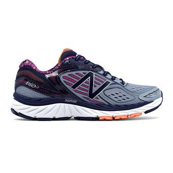 Chaussures running femme 860 V7 grey/purple