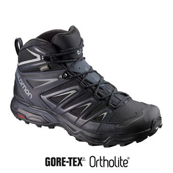 Zapatillas senderismo hombre X ULTRA 3 MID GTX® black/india ink/m