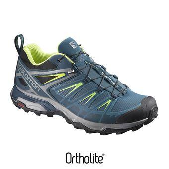 Chaussures randonnée homme X ULTRA 3 mallard blue/reflecting/li