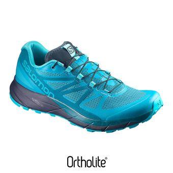 Chaussures trail femme SENSE RIDE blue bird/deep lagoo