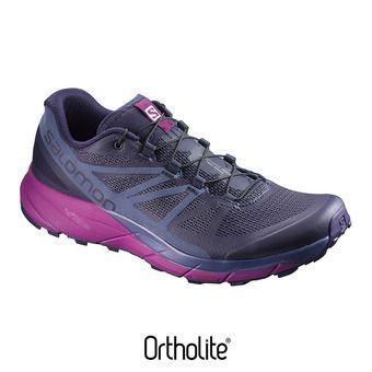 Zapatillas trail mujer SENSE RIDE ev blue/crown blue/g