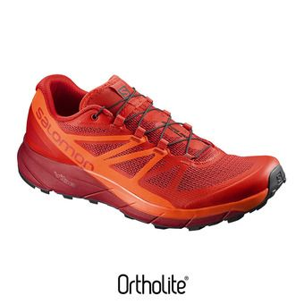 Chaussures trail homme SENSE RIDE fiery red/scarlet ib/re