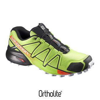 Zapatillas trail hombre SPEEDCROSS 4  lime green/black/scarlet