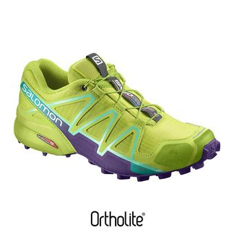 Zapatillas trail mujer SPEEDCROSS 4  lime punch/biscay g