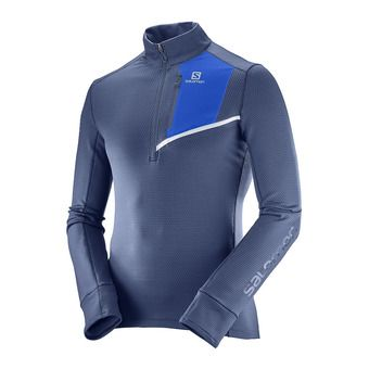 Maillot ML homme fast wind mind dress blue/surf the web