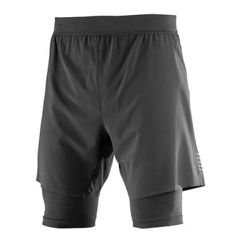 Short 2 en 1 homme EXO MTOTION black