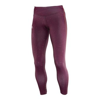 Collant femme ELEVATE fig/beet red