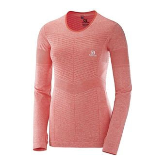 Maillot ML femme ELEVATE SEAMLESS  hot c