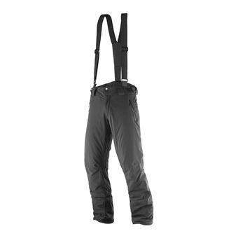 Pantalón de esquí con tirantes hombre ICEGLORY black