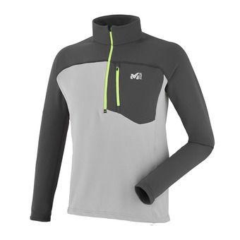 Sweat 1/4 zippé homme TECHNOSTRETCH metal grey/tarmac