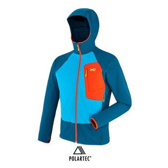 Veste à capuche Polartec® homme TOURING SPEED XCS poseidon/electric blue