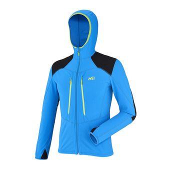 Veste polaire à capuche homme PIERRA MENT electric blue