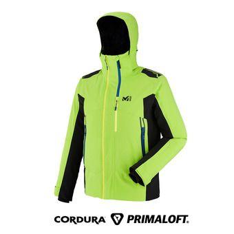 Chaqueta Primaloft® hombre 7/24 STRETCH acid green/negro