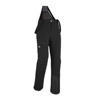 Pantalon à bretelles homme NEVADO noir