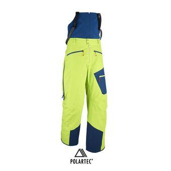 Pantalón con tirantes Polartec® hombre M WHITE NEO 3L acid green/poseidon