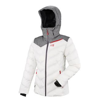Veste à capuche femme LD HEIDEN II cloud dancer/heather grey