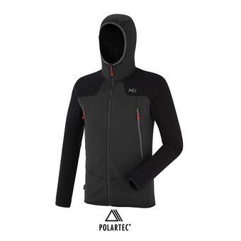 Veste à capuche Polartec® homme K POWERGRID noir