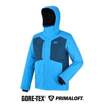 Veste à capuche Gore-Tex® homme RESCUE II electric blue/poseidon