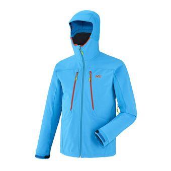 Veste à capuche homme TOURING SHIELD electric blue