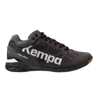 Chaussures handball homme ATTACK MIDCUT noir/blanc