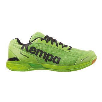 Zapatillas de balonmano hombre ATTACK TWO verde esperanza/negro