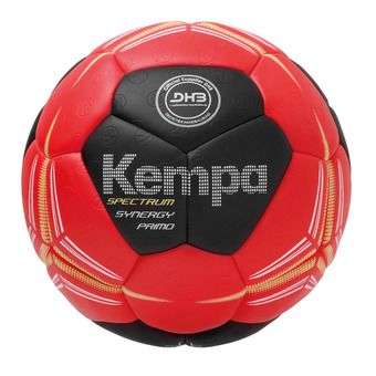 Ballon de handball SPECTRUM SYNERGY PRIMO rouge/noir/jaune citron