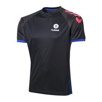 Camiseta hombre CAMPAIGN black/diva pink