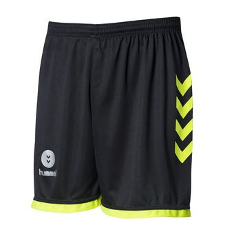 Short homme CAMPAIGN black/safety yellow