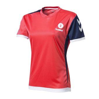 Camiseta mujer CAMPAIGN diva pink/navy/white