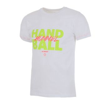 Camiseta hombre GRAF white/safety yellow/diva pink
