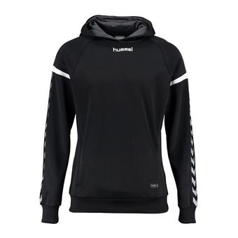 Sweat à capuche homme POLY black