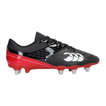 Botas de rugby hombre RAZE black/true red