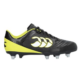 Chaussures rugby homme STAMPEDE 2.0 black/sulpher spring
