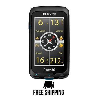 Compteur vélo tactile CARDIO GPS avec capteur cadence RIDER 60T