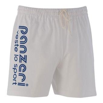 Short UNI A blanc/marine