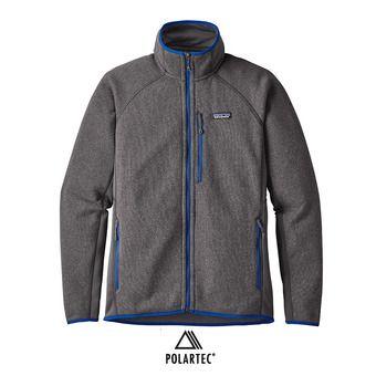 Chaqueta polar hombre PERFORMANCE BETTER forge grey/viking blue