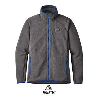 Veste polaire homme PERFORMANCE BETTER forge grey/viking blue