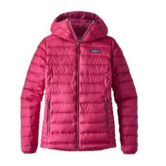 Doudoune à capuche femme DOWN SWEATER craft pink