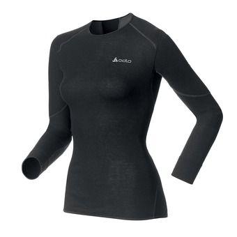Camiseta térmica mujer X-WARM black