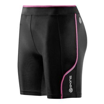 Mallas de compresión mujer A200 black/pink