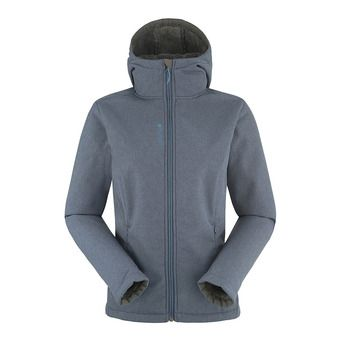 Veste femme Softshell MACHABY anthracite blue