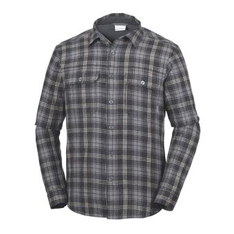 Chemise ML homme WINDWARD™ III black plaid