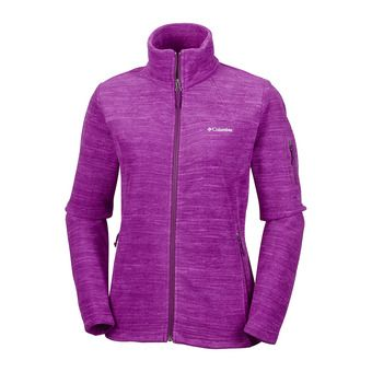 Polar mujer FAST TREK™ PRINT dark raspberry spacedye