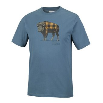 Tee-shirt MC homme CSC CHECK THE BUFFALO™ blue heron