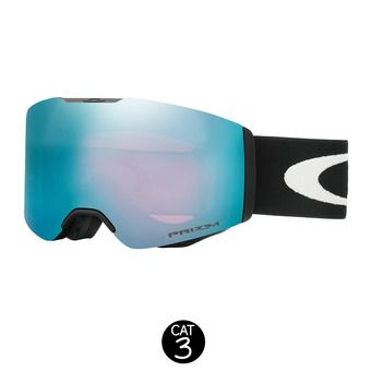 Masque de ski FALL LINE matte black - prizm snow sapphire iridium®