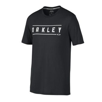 Tee-shirt MC homme O DOUBLE STACK blackout
