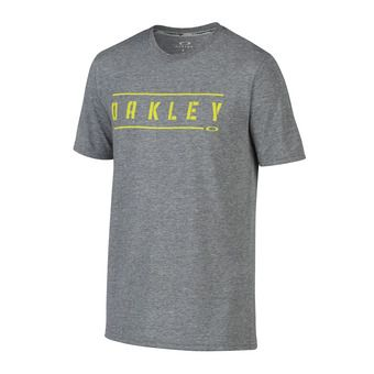 Camiseta hombre O DOUBLE STACK athletic heather grey